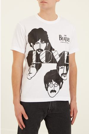 Футболка Beatles CDG Love Comme des Garcons PLAY 99198923